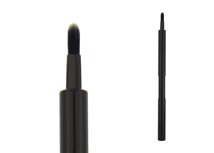 Double Sided Hair Makeup Lip Liner Brush Retractable Cosmetic Brushes