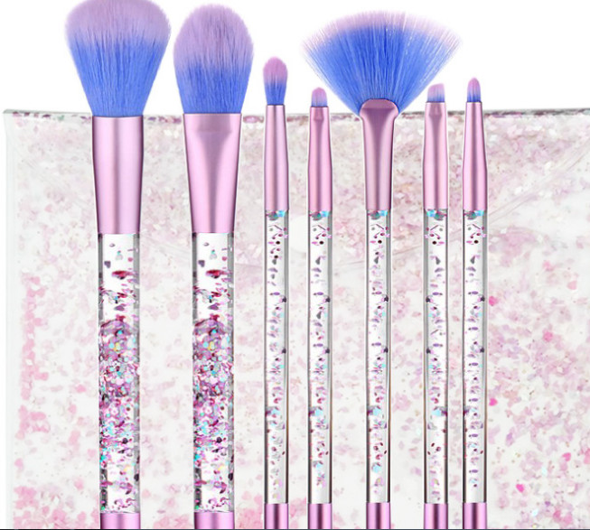 Synthetic Hair Professional Makeup Brush Set Liquid Cosmetic Brush