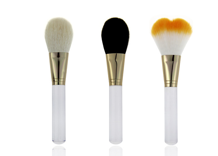 Beauty Cosmetic Flat Contouring Makeup Blending Brush Small Blush Brush