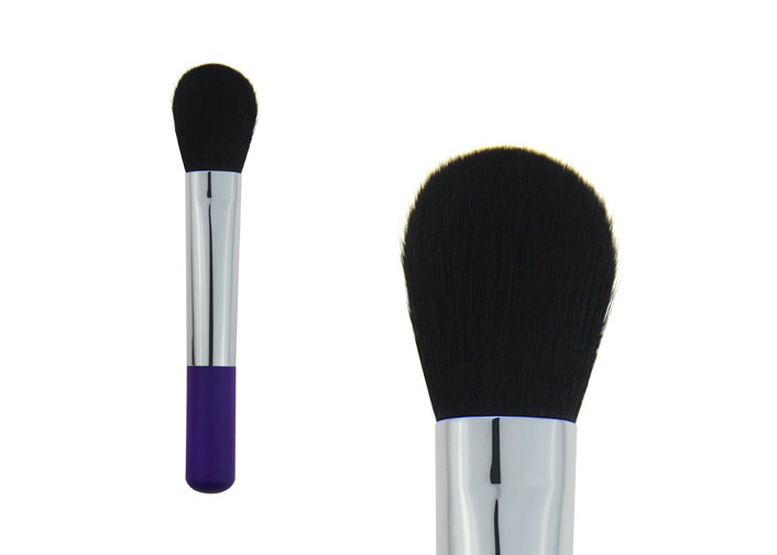 Purple Goat Hair Contour Angled Blush Brush Cosmetic Makeup Brushes