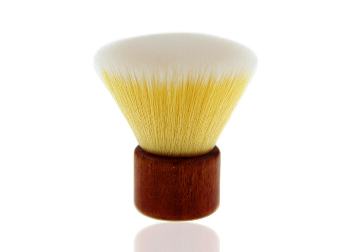 Custom Pro Kabuki Makeup Powder Brush , Eco-Friendly Flat Top Makeup Brush